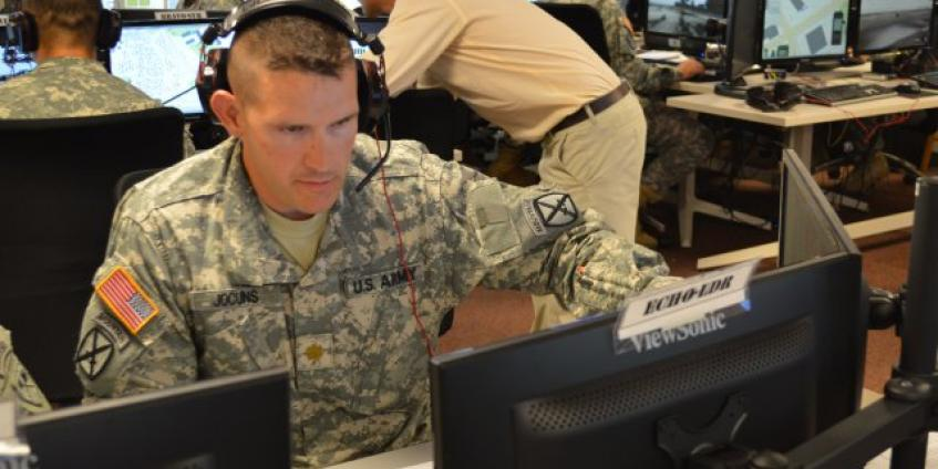 Photo Credit: US Army Modeling and Simulations Office