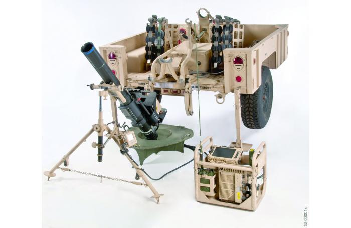 Figure 2: M150/M151, 120-mm Mortar Fire Control System (Source: U.S. Army).