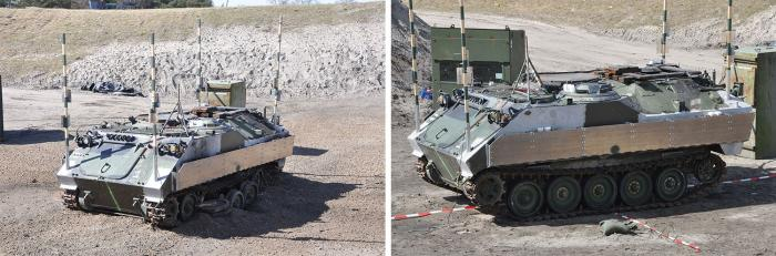 Figure 11: An Active Protection System (Photo Courtesy of ©TenCate Advanced Armor).